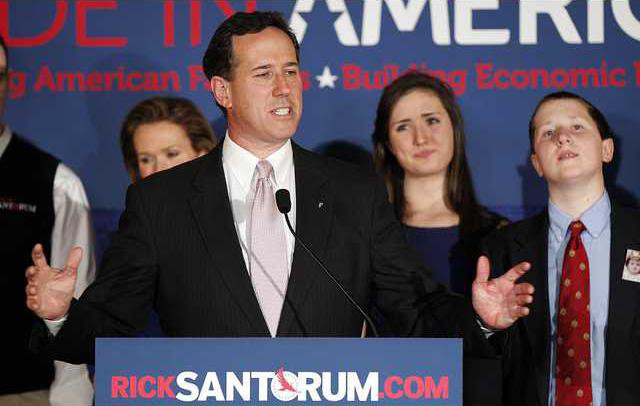 Santorum 2012 Heal