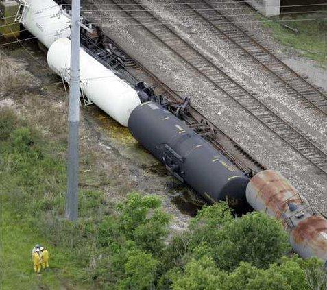 Train Derailment LA 6361510
