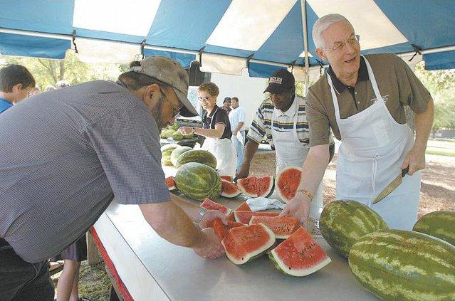watermelon  cutting lead