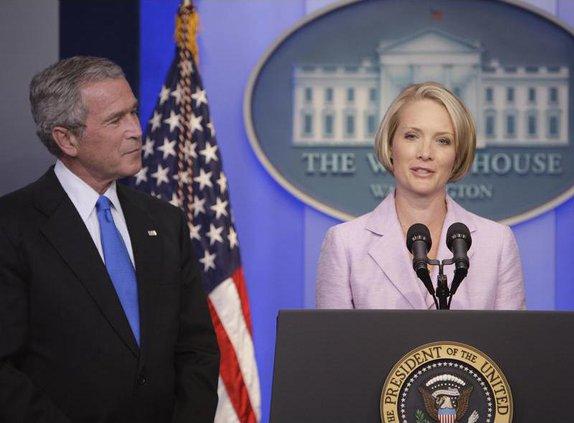 Ailing White House Press Secretary Tony Snow Resigns Deputy Dana Perino Taking His Place Statesboro Herald