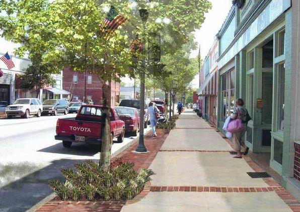 W Streetscape Render