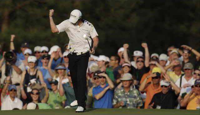 APTOPIX Masters Golf Heal
