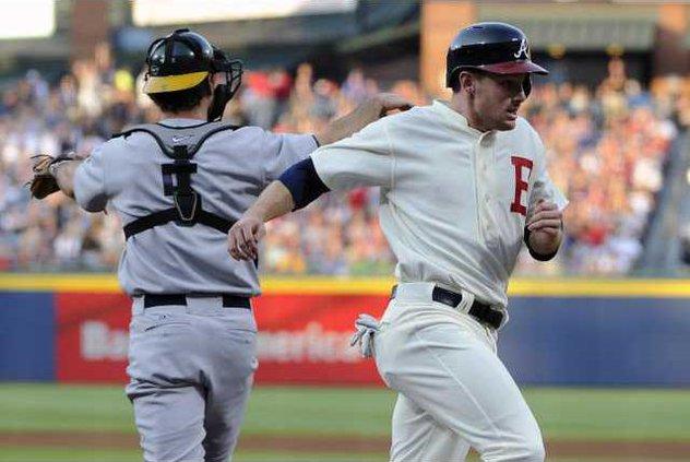 Athletics Braves Base Heal