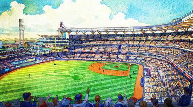 Braves Stadium Baseba Heal 1