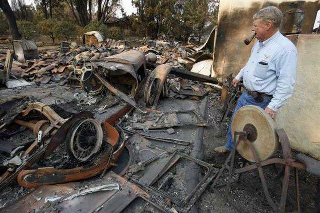 California Wildfire 5142475