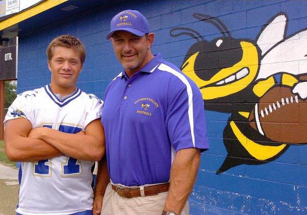 Coach ward and son