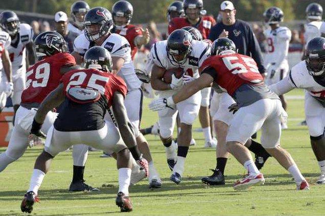 Falcons Texans Camp F Heal