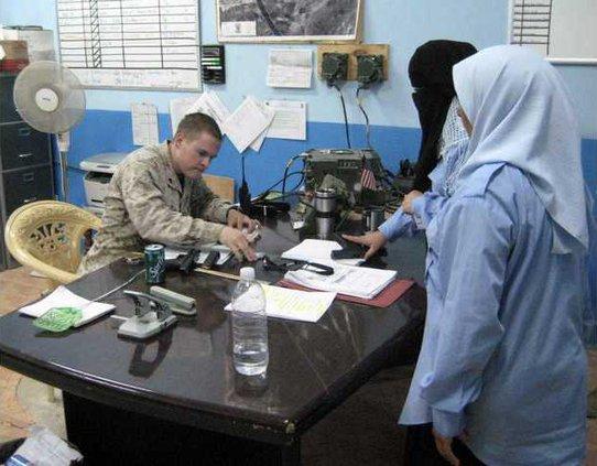 IRAQ WOMEN POLICE B 6288580