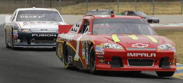 NASCAR Sonoma Auto Ra Heal