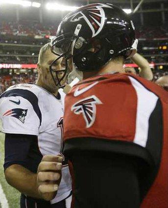 Patriots Falcons Foot Werm