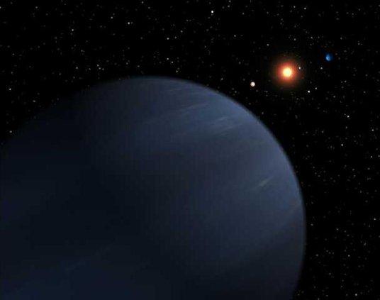 Planetary System LA 6444053