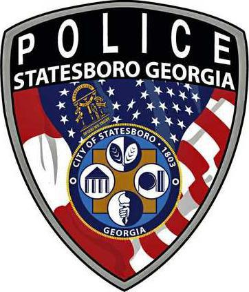 Statesboro Police Department patch