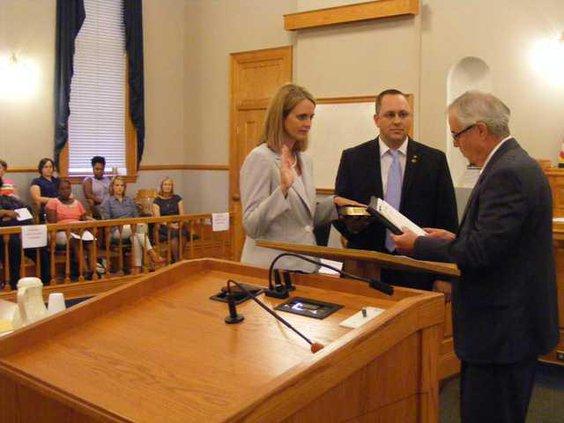 W Clerk Sworn In 1