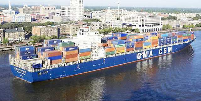 W Savannah port