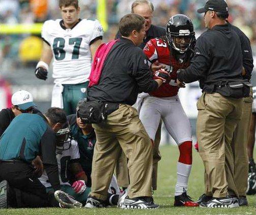 Falcons Eagles Collis Heal