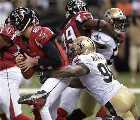 Falcons Saints Footba Heal