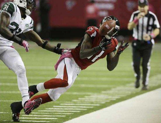 Jets Falcons Football Heal