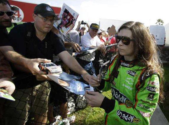 NASCAR Daytona Testin Heal