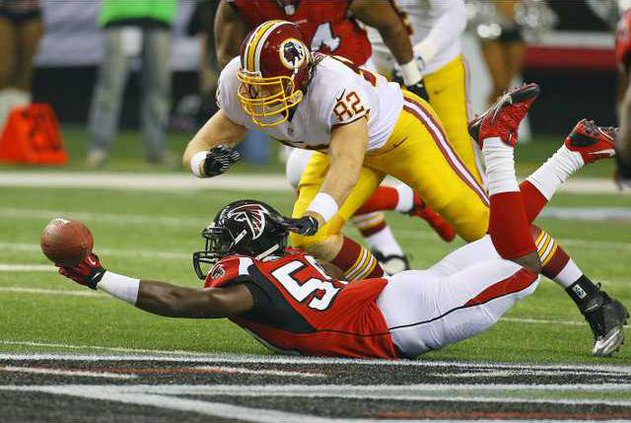 Redskins Falcons Foot Heal 1