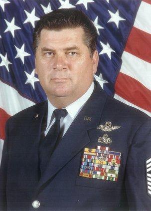 "CMSgt. Bill ""Billy"" David Williams, USAF (Ret.)"