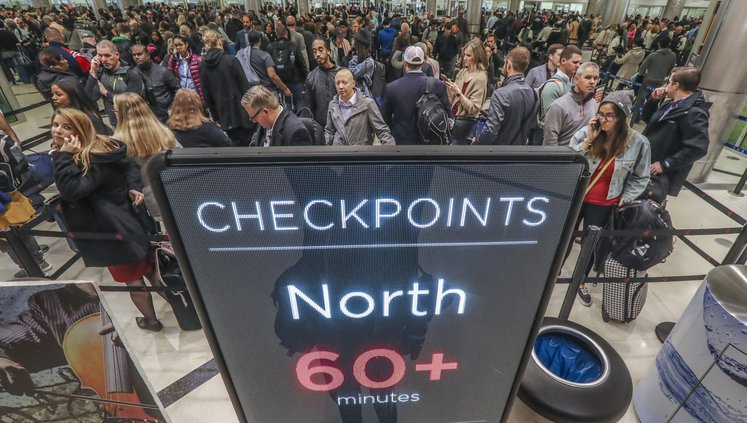 airport checkpoints