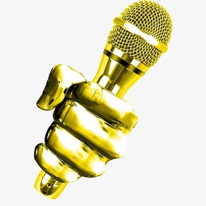 Statesboro Voice_gold hand and mic.jpg