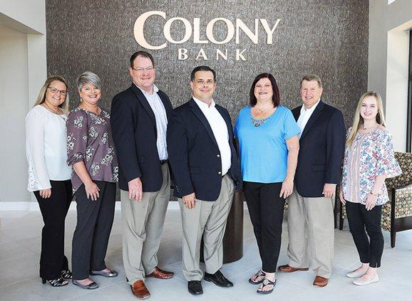 Colony Bank Team