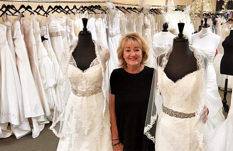 main street wedding dress shop