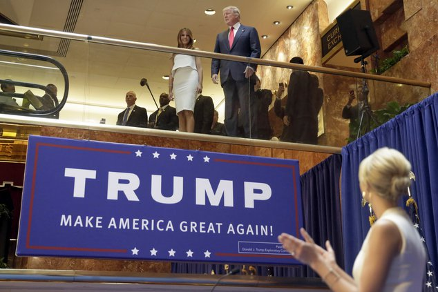 Trump election campaign kickoff