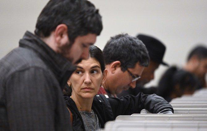 Georgia voting machines