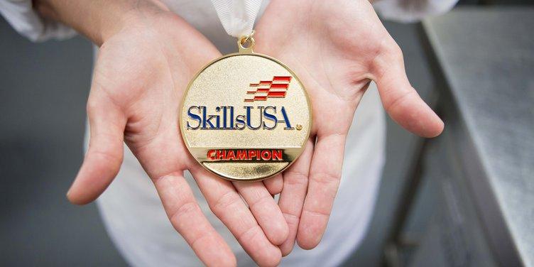 SkillsUSA gold medal