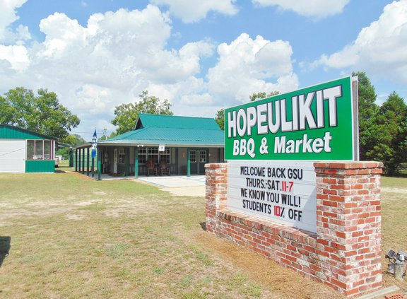 Hopeulikit BBQ