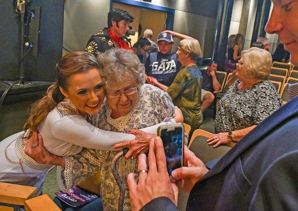 McCook with grandma