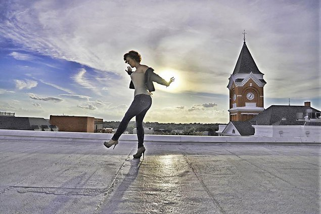 Brandi Harvey rooftop