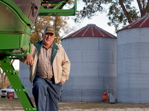 Lehman Brannen, photographed at his farm near Register Friday, was named the 2019 Farmer of the Year during the Bulloch County Farm City Week Luncheon earlier in the day.