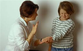 punishing a child