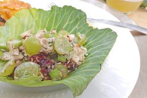 Chicken Salad Cabbage Cups