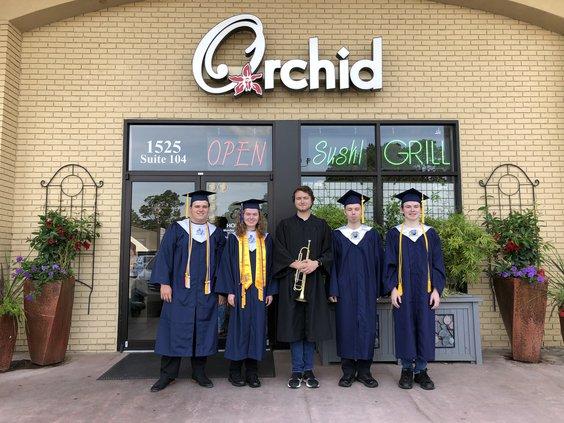 orchid grads