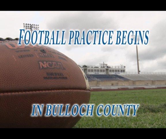 Football practice returns