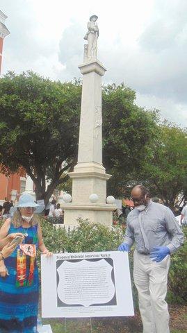 Contextual Marker For Confederate Statue Proposals Go To Bulloch Commissioners Statesboro Herald