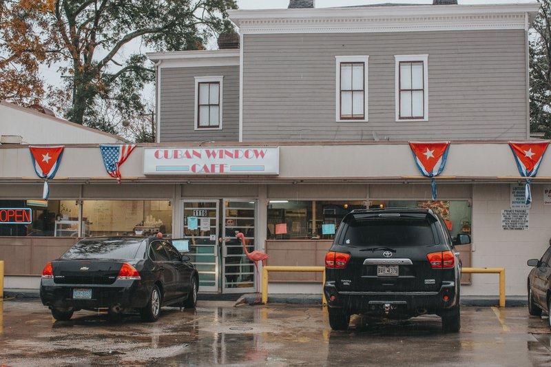 Savannah's Cuban Window Cafe on Abercorn Street.