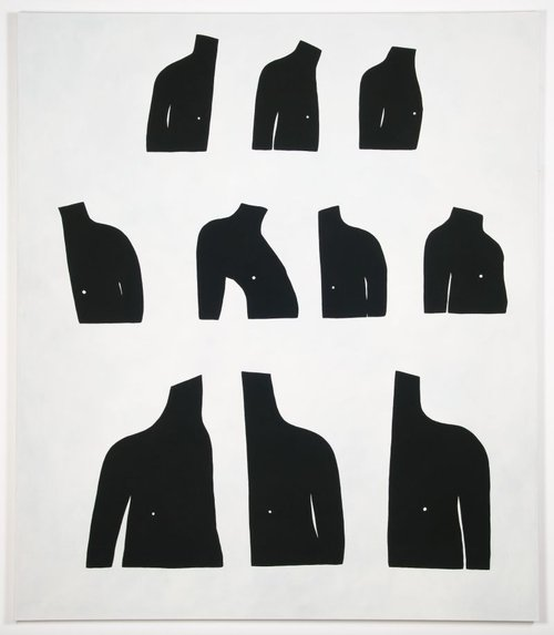 Torsos by Amy Pleasant. Photo courtesy of Laney Contemporary.