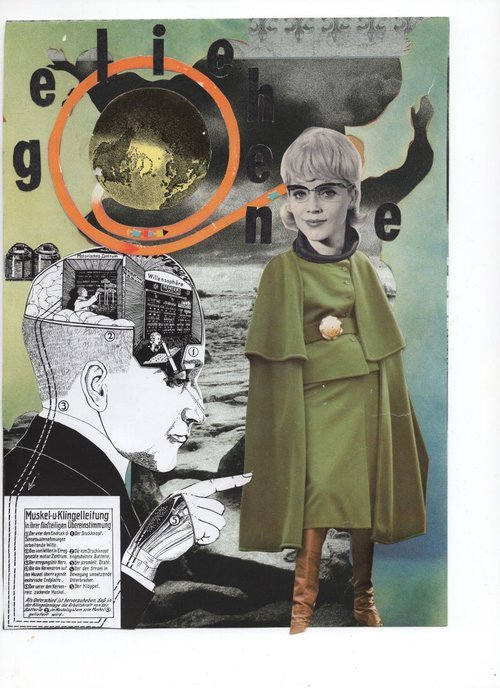 Collage by Axelle Kieffer and Sabine Remy.