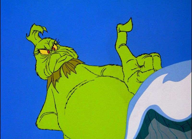 Still from How the Grinch Stole Christmas.