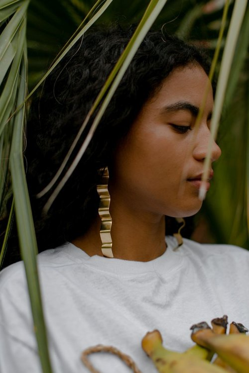 The Rizo earring. Photo by Melody Joy Co.