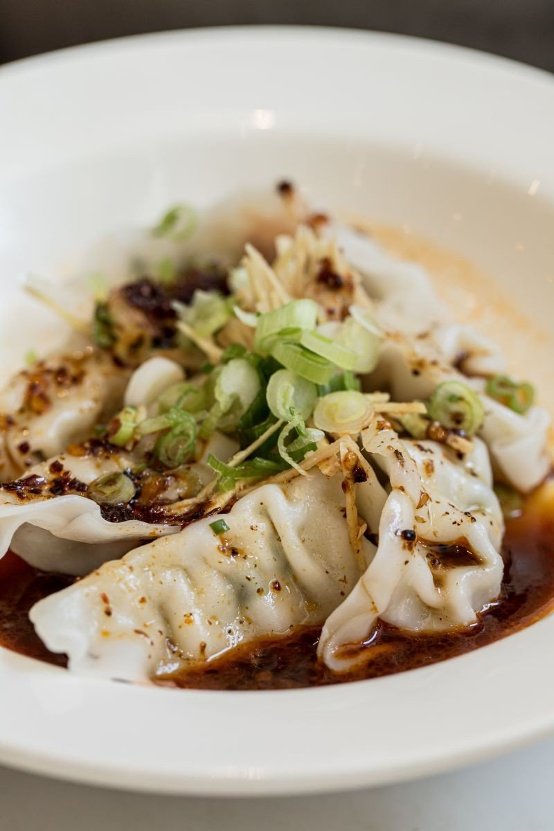The spicy dumpling.