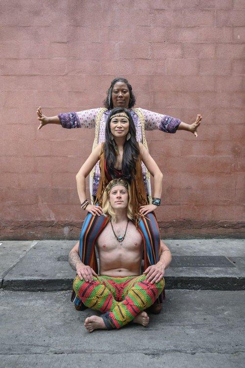 Teresa-Michelle Walker, Cecilia Tran Arango, Chris Stanley.