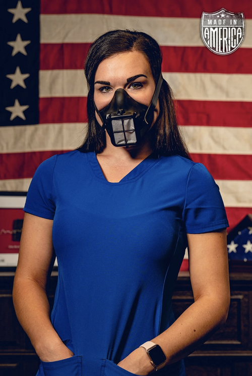 The U.S. made masks are pending FDA approval.