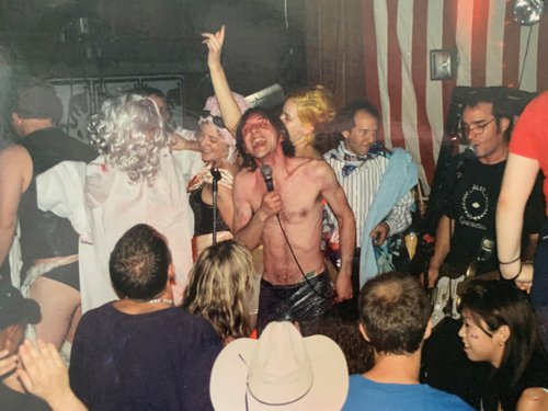 GAM perform at Velvet Elvis. Photo courtesy of Sarah Wood.