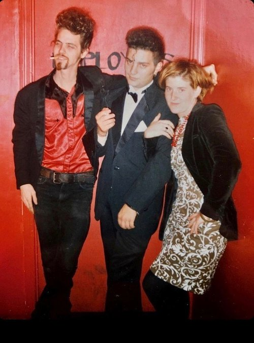Mike Walker, Igor Fiksman and Stacie Albano at an undated  Velvet event.